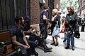 La alcaldesa acude al edificio derrumbado en Chamberí para ver la labor de rescate de las víctimas 05.jpg