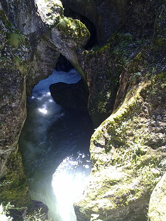 Devil's Throat Cave - Devil's Throat Cave from above