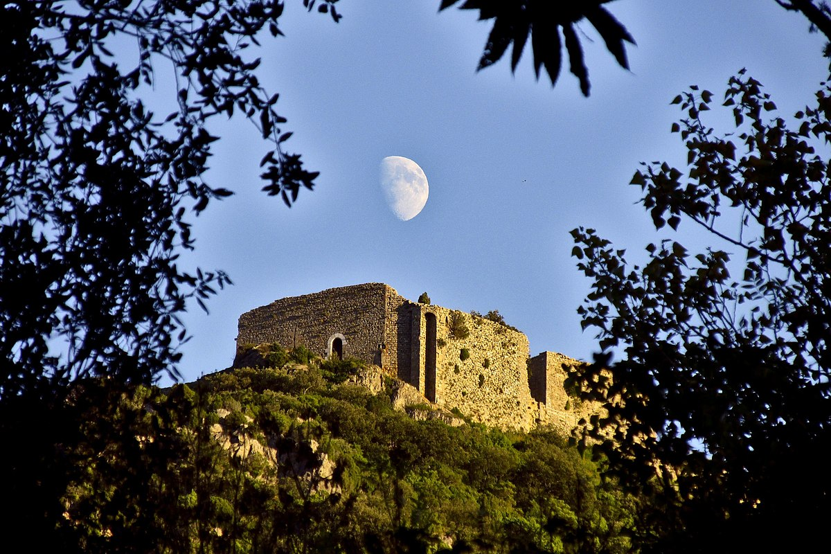 Château de Termes, Lune en Pays Cathare
