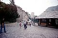 La rue Kujundžiluk à Mostar.jpg
