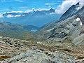 Lac amont vu du col d Aussois.JPG