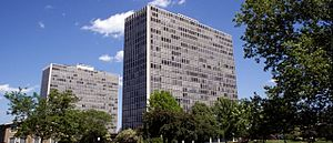 Lafayette Towers Apartments East - Image: Lafayette Towers