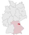 Lage des Landkreises Neustadt a.d.Waldnaab in Deutschland.PNG