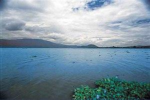 Tlajomulco de Zúñiga - Image: Lago cajititlan