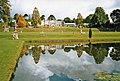 Lake with reflection at Bicton Garden, Devon - geograph.org.uk - 679936.jpg