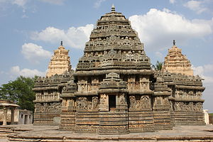 Lakshmi Narasimha Temple, Nuggehalli - Lakshmi Narasimha temple, built in the karnata dravida style in 1246 CE at Nuggehalli