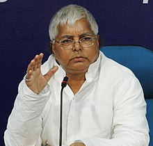 Lalu Prasad Yadav- (Born 11 June 1948) is an Indian politician from the state of Bihar. He is the president of the Rashtriya Janata Dal, former chief minister of Bihar, former UPA minister of railways, and former member of Parliament of the 15th Lok Sabha.