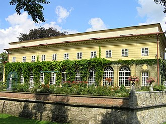 Łańcut Castle - The orangery and fortifications