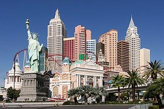 New York-New York Hotel and Casino - Image: Las Vegas NY NY Hotel