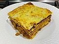 Lasagna with minced meat, Brisbane.jpg