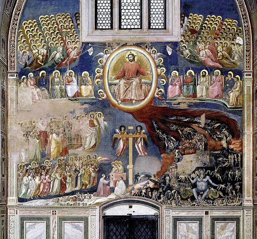 Giotto di Bondone | The Last Judgment at the Arena Chapel (Cappella Scrovegni), in Padua