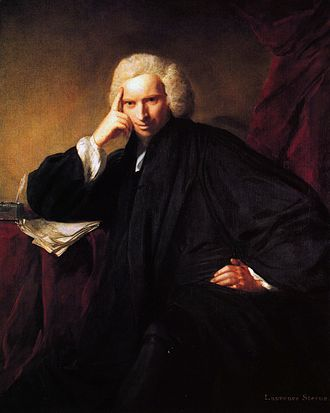 Laurence Sterne - Portrait, 1760