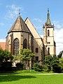 Lautenbach, Wallfahrtskirche Mariä Königin, Ansicht von Nordosten 1.jpg