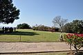 Lawn and Main Walkway Buddhist Monuments Site - Sanchi Hill 2013-02-21 4537.JPG