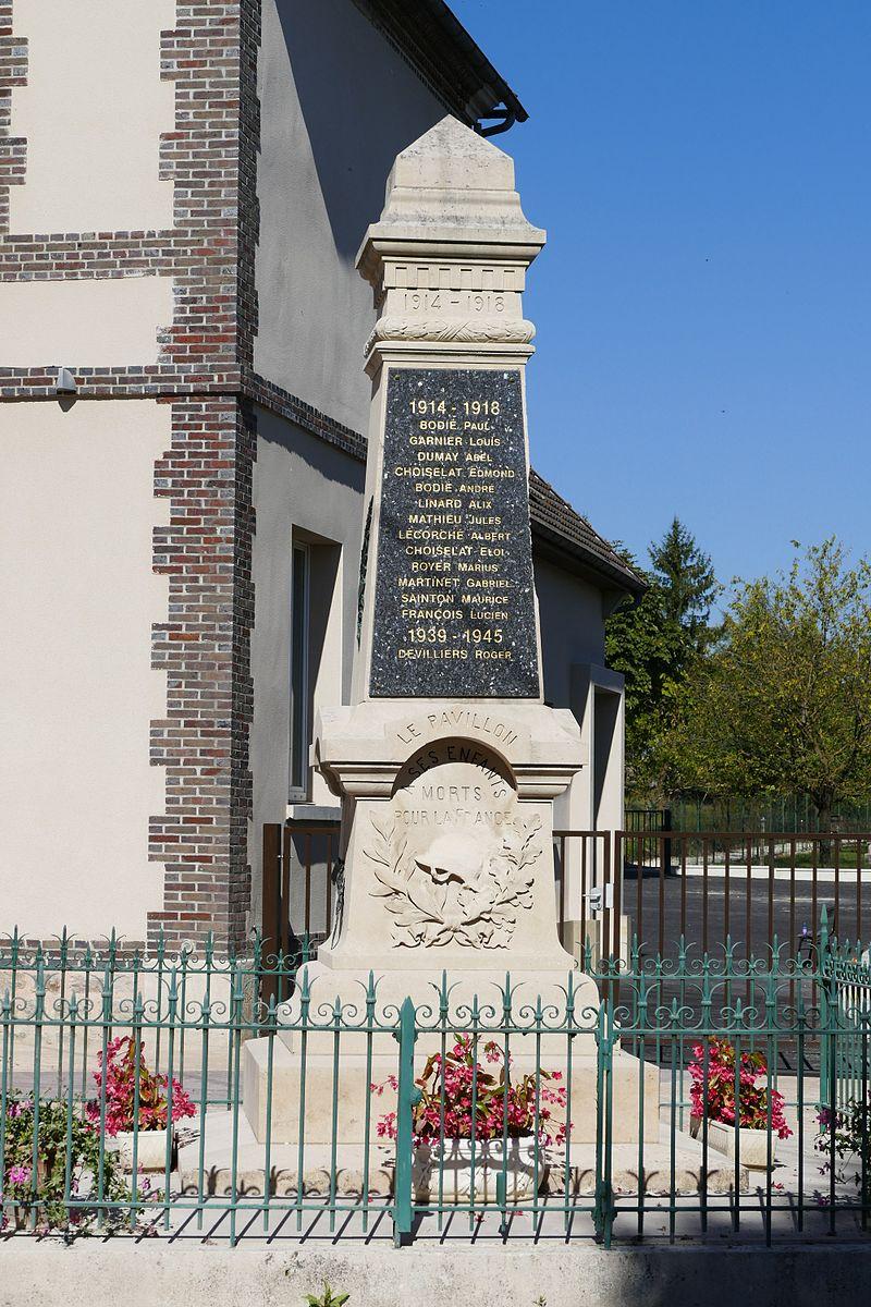 Le Pavillon-Sainte-Julie - Monument aux morts - 1.jpg