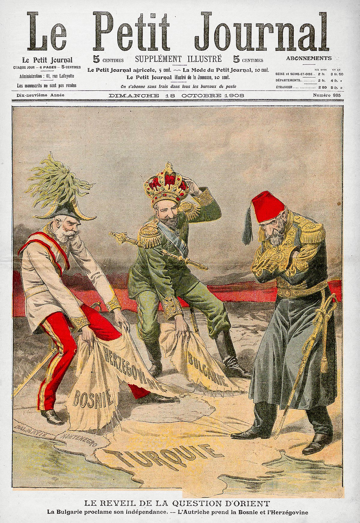 an analysis of crisis in the balkans in 1908 He sees the balkans as a russia  moscow could precipitate a serious crisis in the region that would include both  the foreign policy research institute,.