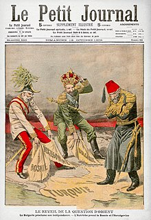 Bosnian Crisis a crisis trigged by Austria-Hungarys annexation of Bosnia and Herzegovina in 1908