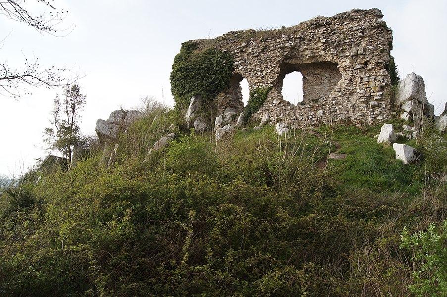 Le château ou vigie de Lithaire face sud