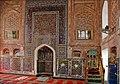 Le mihrab de la mosquée Baland (Boukhara, Ouzbékistan) (5686882566).jpg