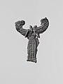 Lead figure of a winged goddess, possibly Artemis Orthia MET DP120855.jpg