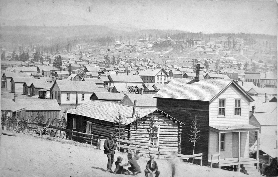 Leadville Colorado by Boston & Ziegler c1880