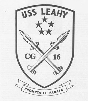 USS Leahy (DLG-16) - USS Leahy (CG-16) Seal
