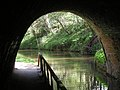 Leaving 80 metre tunnel on the Llangollen Canal - geograph.org.uk - 1261000.jpg