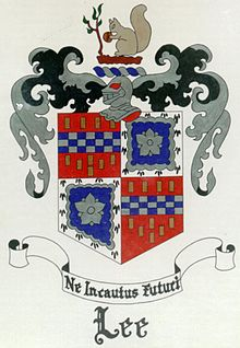 Lee Coat of Arms.JPG