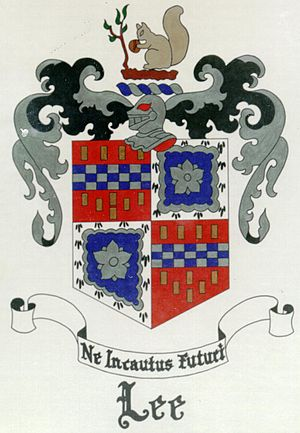 Lee–Fendall House - Lee Family coat of arms