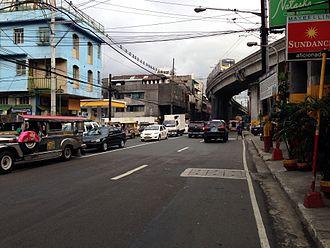 Radial Road 6 - Legarda Street