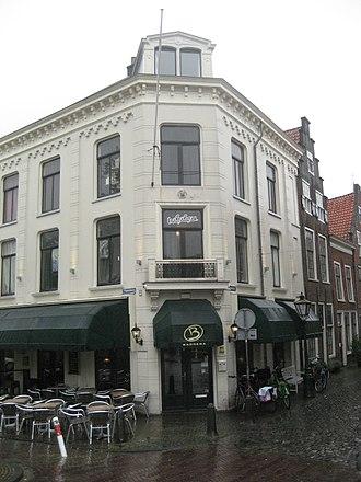 Erik Hazelhoff Roelfzema - Rapenburg 56, Leiden, where Hazelhoff lived as a student
