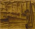 Leo Gestel Vissersboot te Oostende 1926 001.JPG