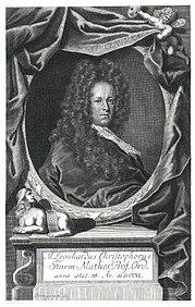 Leonhard Christoph Sturm