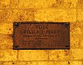 Levallois-Perret, Rue Paul-Vaillant-Couturier - Plaque de Cocher - Close Up.JPG
