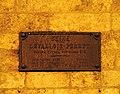 Levallois-Perret, Rue Paul-Vaillant-Couturier - Plaque de Cocher - Close Up.JPG