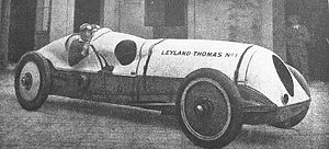 Leyland Eight - The 1924 Leyland-Thomas No. 1