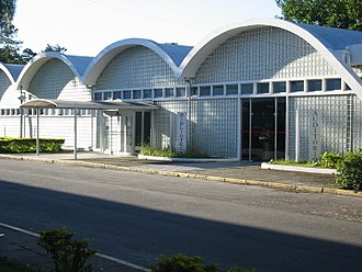 São José dos Campos - Library of ITA, designed by Oscar Niemeyer