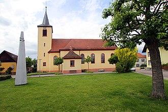 Lichtenau, Baden-Württemberg - Church of Holy Cross in Lichtenau-Ulm
