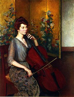 Lilla Cabot Perry - The Cellist