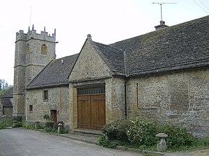 Lillington, Dorset - Image: Lillington Church and barn conversion geograph.org.uk 438198
