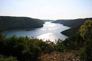 Lim (Croatia) - Another view of the Lim canal