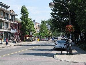 La Cité-Limoilou - 3rd Avenue, at the corner of 12th Street