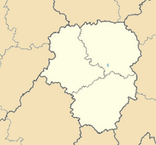 LFBL is located in Limousin