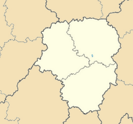 Cieux is located in Limousin