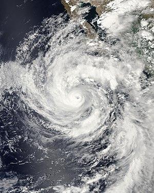 Hurricane Linda (2015) - Image: Linda 2015 09 08 2110Z