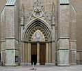Linkoping Domkyrka Main entrance01.jpg