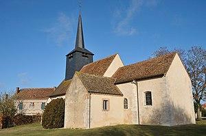 Lion-en-Sullias - The church in Lion-en-Sullias