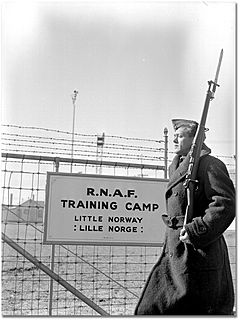 Little Norway military training camp in Canada