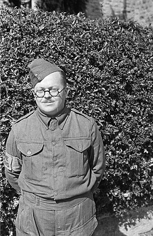 Home Guard (United Kingdom) - A member of a Montgomeryshire Home Guard unit in 1941