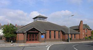 English: Llanelli Roman Catholic Church This i...
